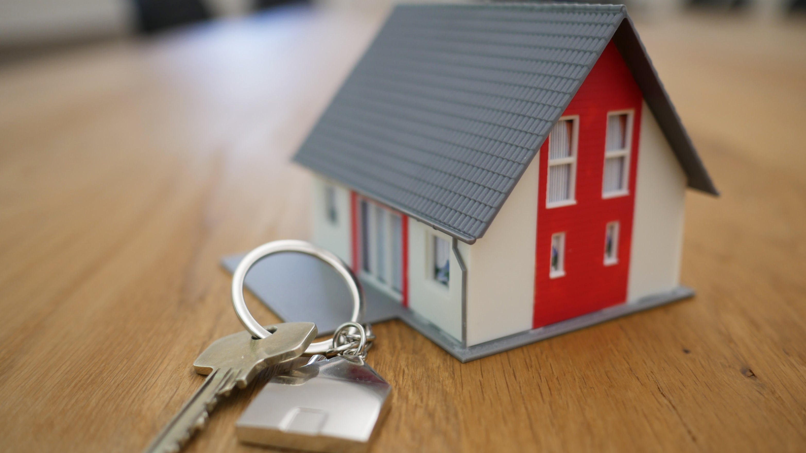 Designed for letting agents and landlords Custom Engraved Keyring