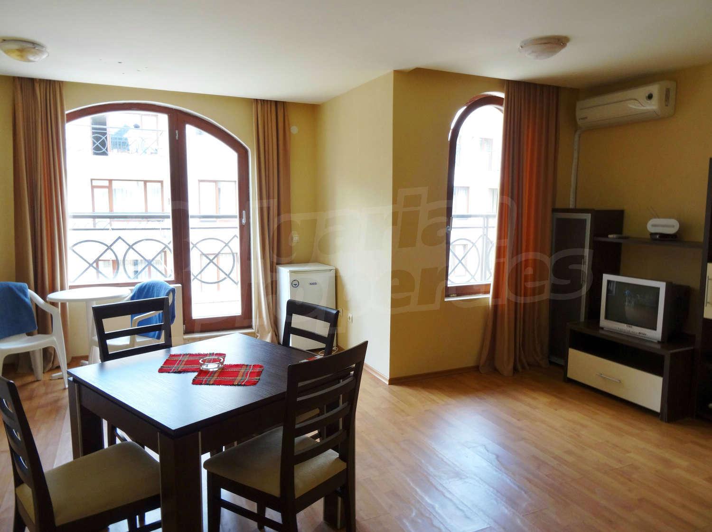 двухкомнатные апартаменты болгария золотые пески