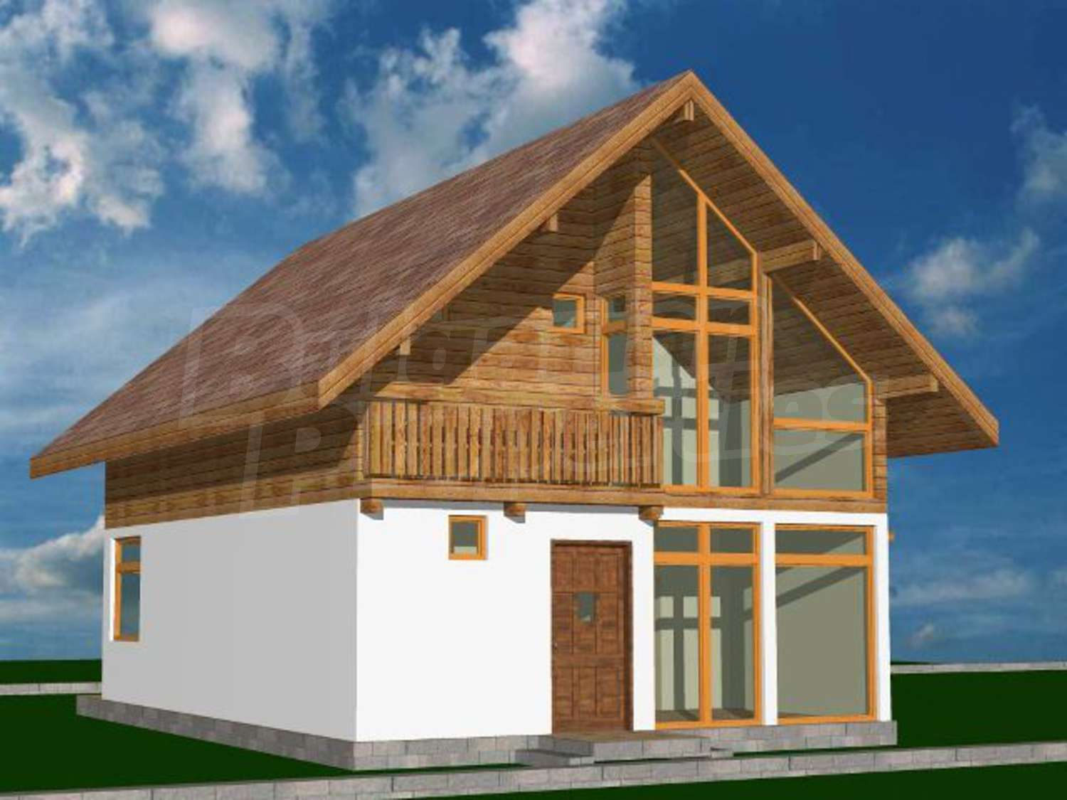 Land for sale in sokolovo bulgaria a yard with a house House plans for golf course lots
