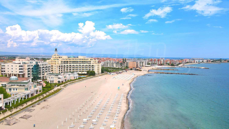 Plan Of Construction Sunset Resort In Pomorie Bulgaria