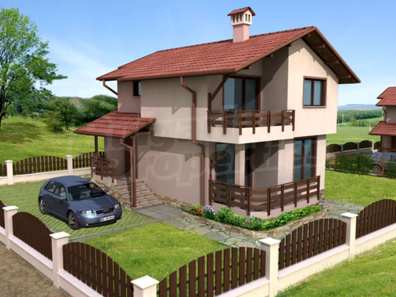 House for sale near byala varna byala bulgaria two for Nice house images