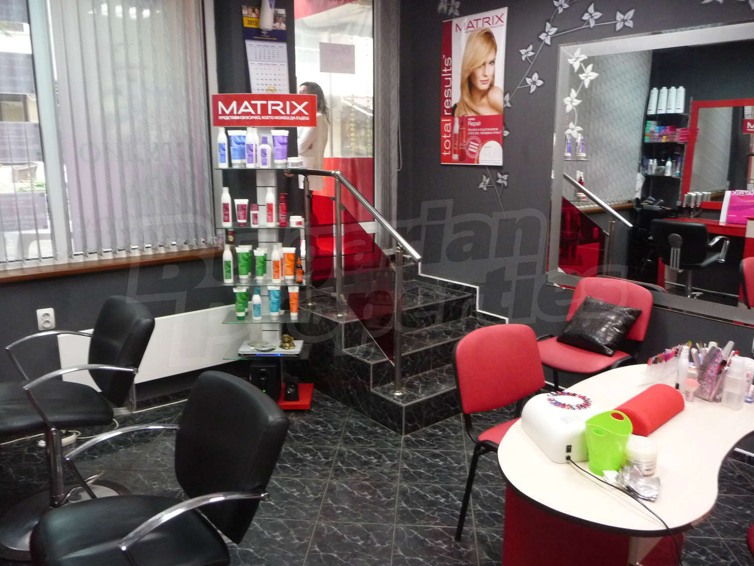 Beauty salon for sale in varna quartercenter bulgaria for A creative touch beauty salon
