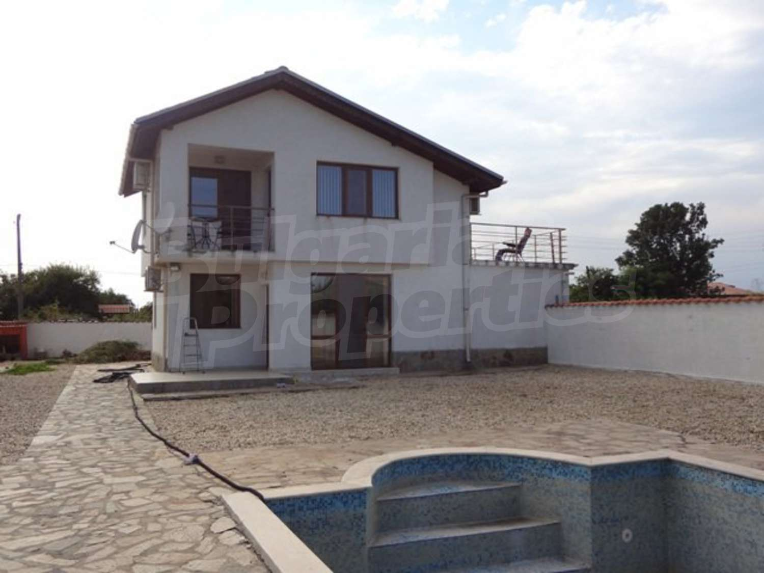 House for sale near burgas bulgaria new house with a for Big house for sale with swimming pool