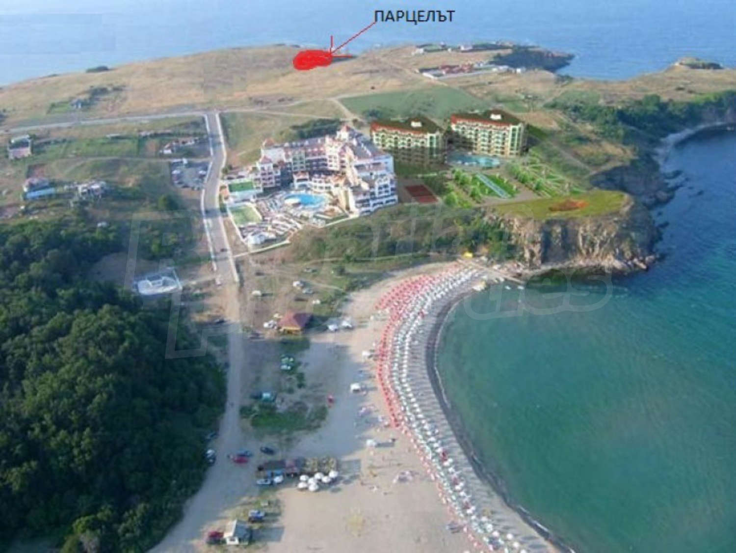 Panoramic Property Development : Development land for sale in sinemorets butamyata beach