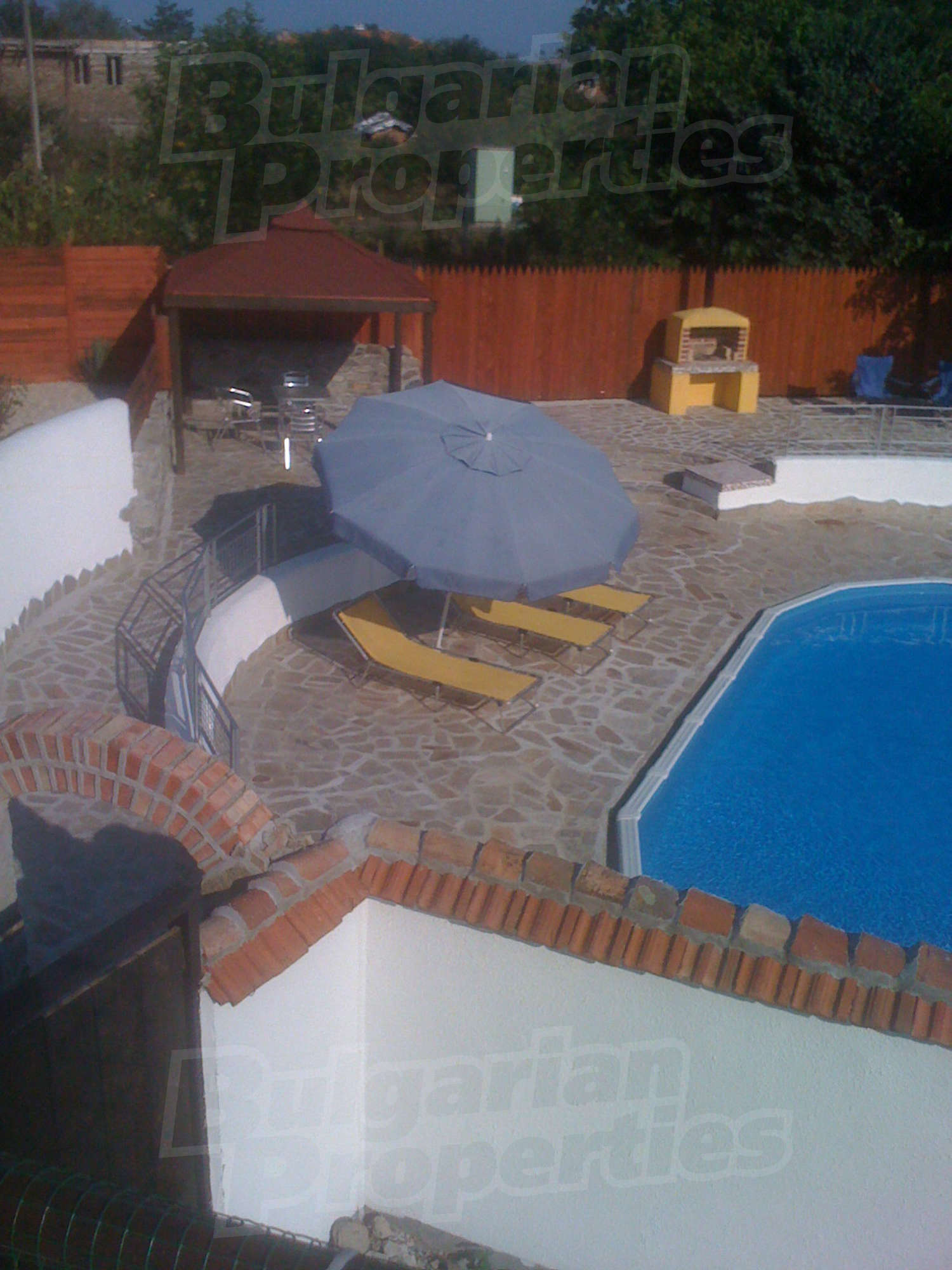 House For Sale Near Burgas Bulgaria New House With Outdoor Swimming Pool Barbecue And Garage