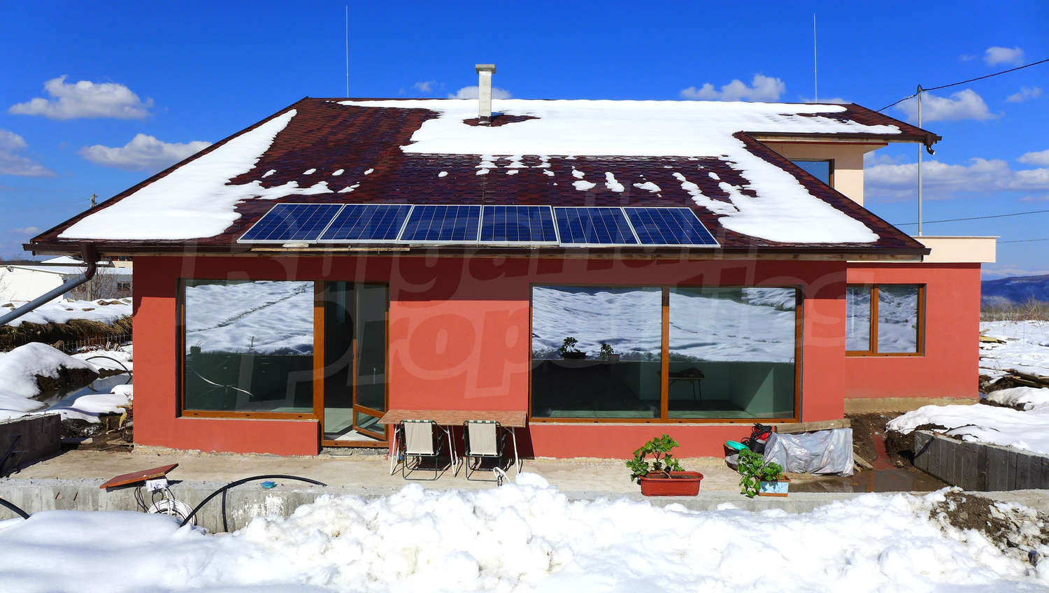 House For Sale In Bistrica Bulgaria New Energy Efficient