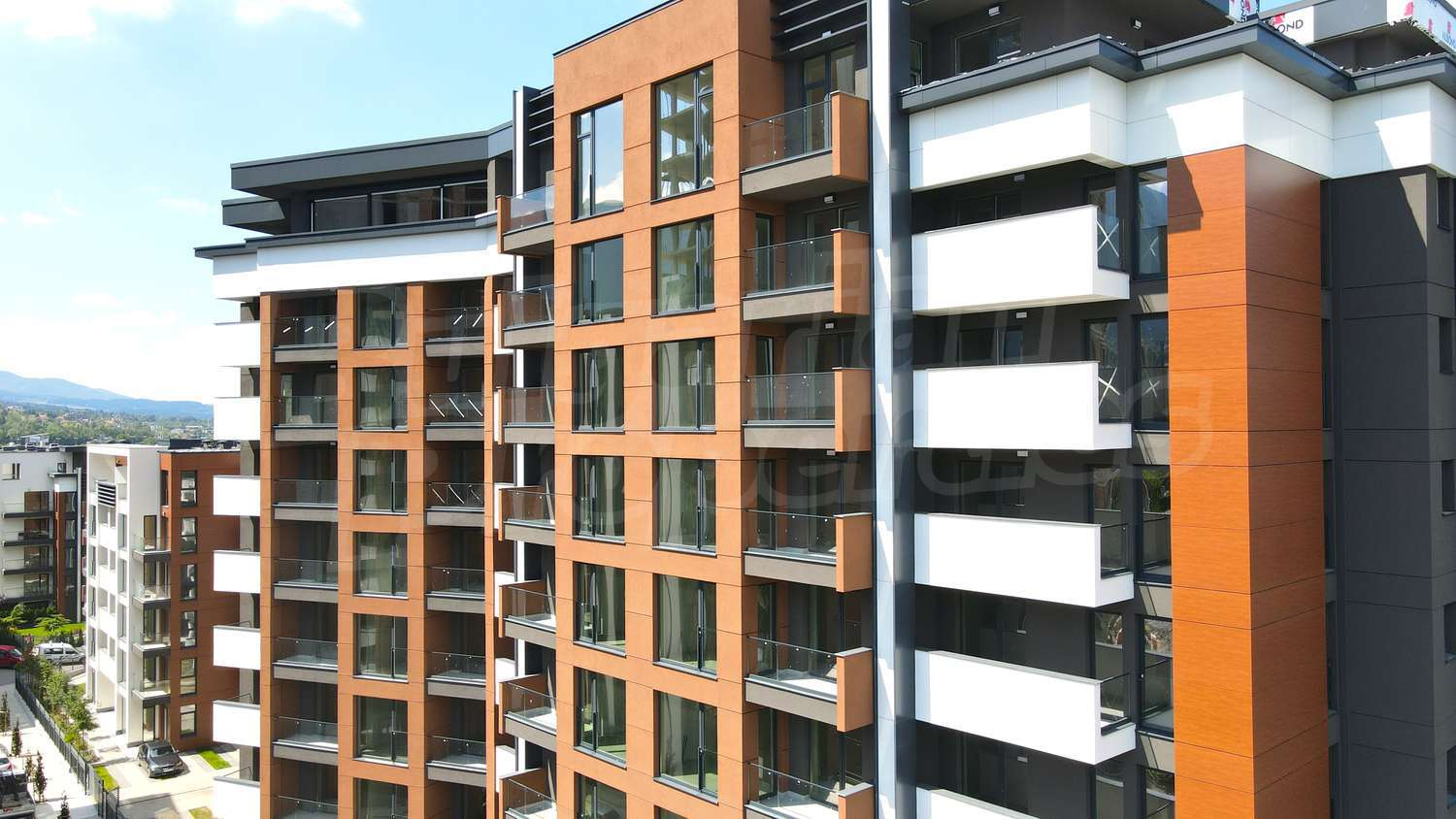 Elegant residential complex in sofia new buildings with for Contemporary residential buildings