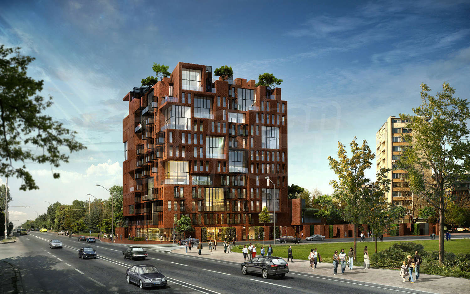 Amazing Stylish 1 Bedroom Apartment In Red Apple Building In Sofia