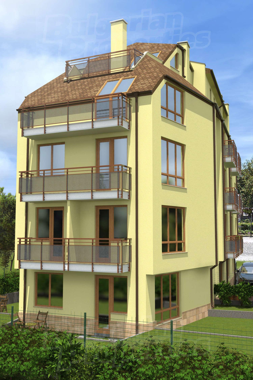 2 bedroom apartment for sale in sofia quarterkarpuzitsa for Building a garage apartment