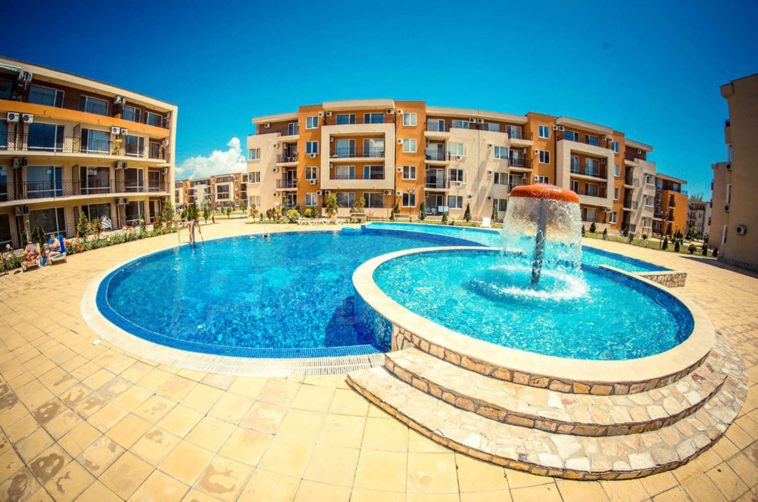 1 Bedroom Apartment For Sale In Nessebar Fort Club In