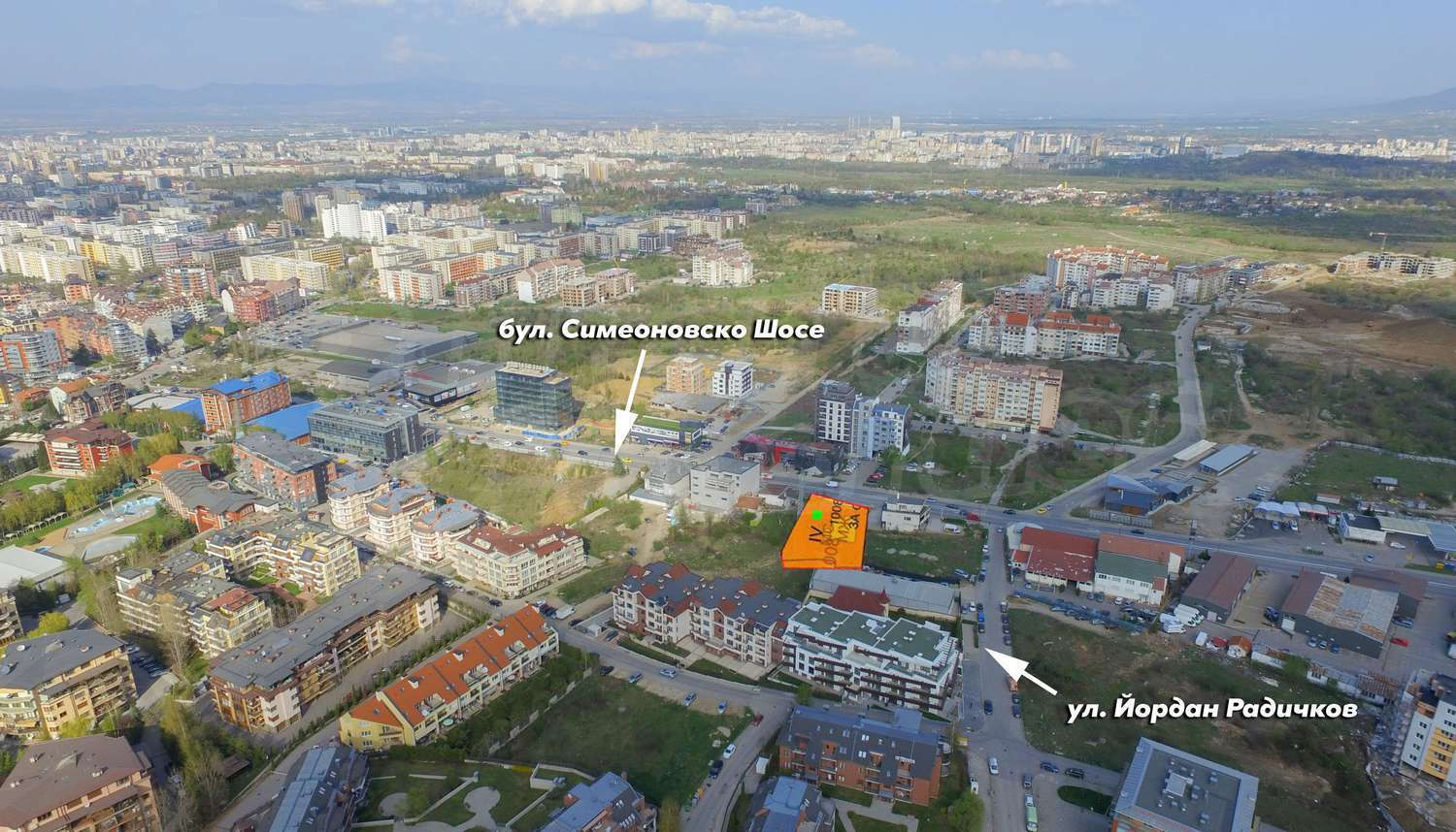 Building Plot With Project For Sale In Sofia Quartervitosha