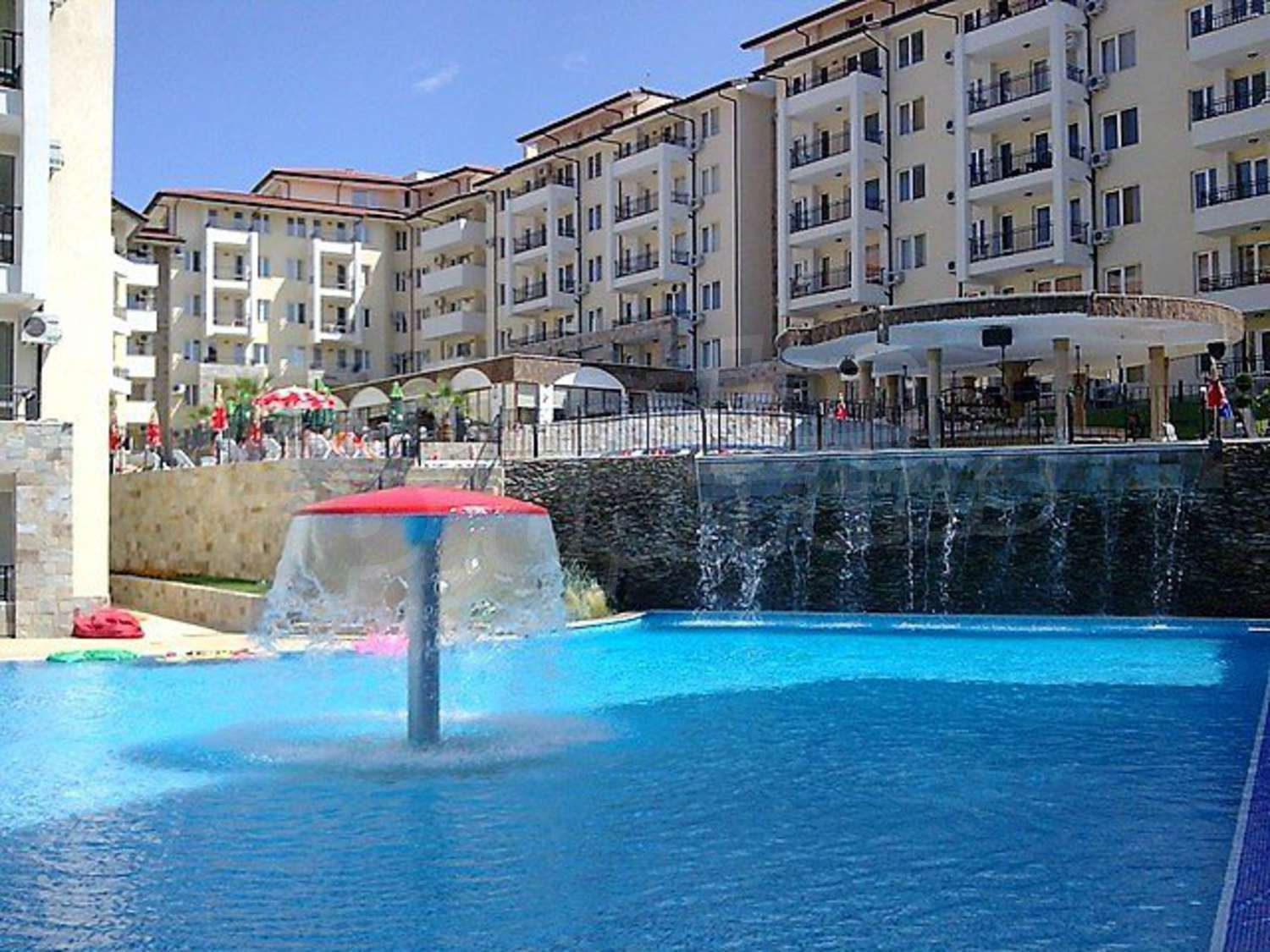 Studio In Sunny Beach Hills Complex Just 300 Meters From The