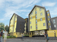 Canterbury Halls - нова сграда в сърцето на град Престън
