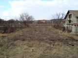 A yard for sale in the town of Suvorovo
