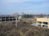 Industrial property in a small town, 10 km. from the main road E 83
