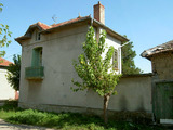 Solid rural house on two floors located in a big village