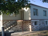 Solid house in village near the Turkish border