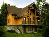Godlevo Chalets (plot with project) near Bansko and Razlog
