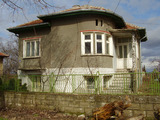 Solid house at the banks of the Danube near Vidin