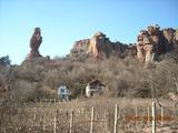 Двуетажна вила с панорамна гледка към Белоградчишките скали