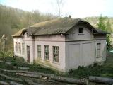 Масивна сграда в населено място близо до гр. Трявна