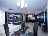 Луксозен двустаен апартамент в комплекс Тракия Плаза в Слънчев бряг
