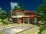 Building plot with project for holiday resort