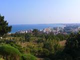 Панорамен парцел за застрояване край Слънчев бряг