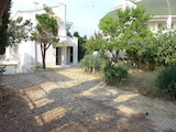 House with yard on the first line in summer colony of Chernomorets