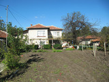 Two-storey house with spacious yard in nice village 32 km from Plovdiv