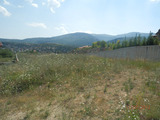 Regulated plot with lovely views in Bistrica