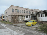 Former cannery in the town of Stamboliysky