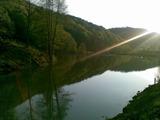 Парцел в регулация с езеро и гора, до град  Габрово