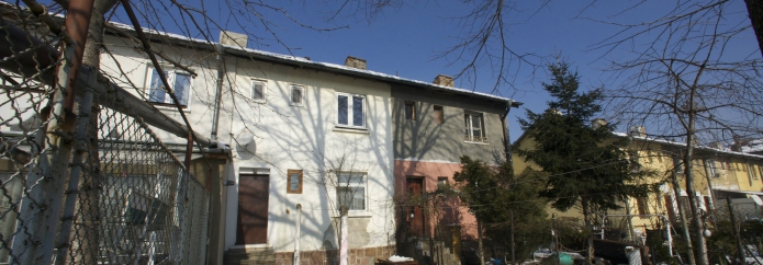 1-bedroom apartment with private garden in Knyazhevo