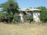 Large yard with old house near the road Burgas-Yambol