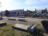 Промишлен терен с малка фабрика и земеделска земя край Сливен