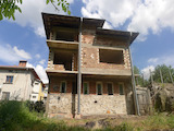 3-storey house-maisonette under construction in Smolyan