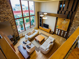 "Luxury apartment on two levels in ""Iztok"" District"