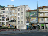 New residential building in the top center of Burgas