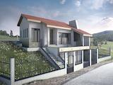 Луксозна новопостроена къща с двор на 4 км от морето