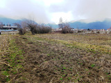 Large plot of land for residential or industrial construction
