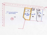 Regulated plot of 1370 sq.m with building of 337 sq.m.