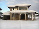 Новопостроена къща с гараж и басейн, близо до Троянския манастир