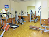 Equipped cafe and fitness center in the district Lozenets