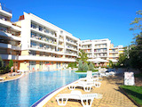 Spacious studio in Grand Kamelia complex in Sunny Beach