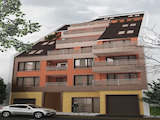 Compact residential building with parking spaces near Serdika Center
