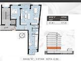 Тристаен апартамент в нова сграда в кв. Красна поляна