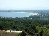 Панорамен парцел за застрояване на вилно селище над Слънчев бряг