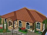 Едноетажна къща в строеж в кв. Горубляне