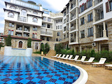 Elegant one-bedroom apartment in a gated complex in Sveti Vlas